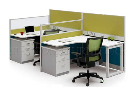 Office Desk Partitions by Office Desk With Partition Whitevan