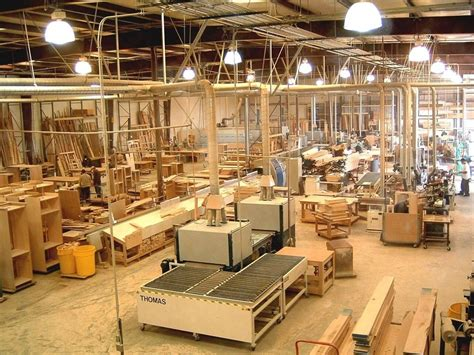 woodworking factory project profile on furniture manufacturing plant