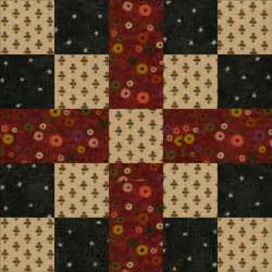 Easy Quilt Block Patterns Free by Easy Quilt Block Patternsfive Patch Chain Quilt Block