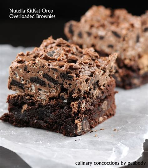 nutella kit oreo overloaded brownies what2cook