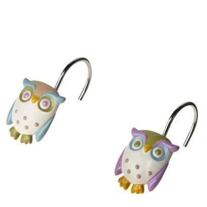 Owl Shower Curtain Hooks by Owl Shower Curtain Hooks Bath