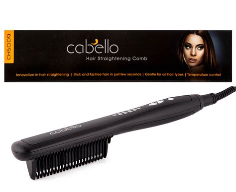straightening comb for black hair cabello hair straightening comb black 850051005185 ebay