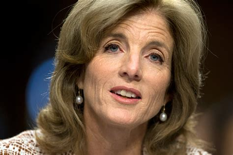 for caroline kennedy polite questions at senate hearing