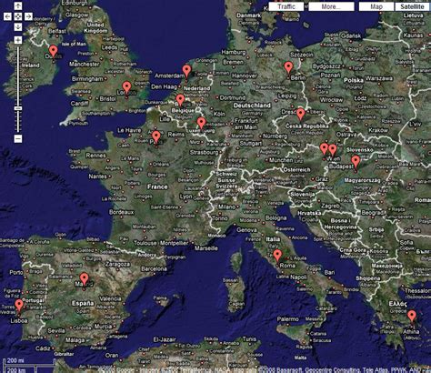 Google Maps Europe by Google Map Europe Images