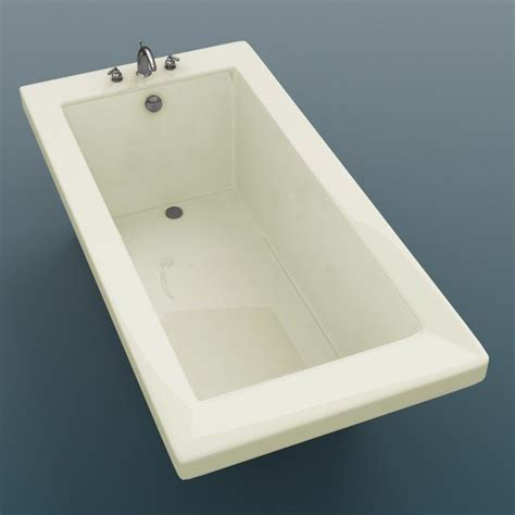 guadeloupe 36 x 72 x 23 quot rectangular soaking bathtub