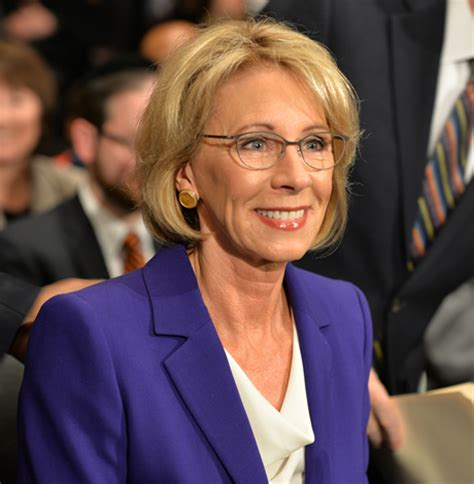 betsy decos betsy devos rejects anti lgbt views but bruised in bumpy