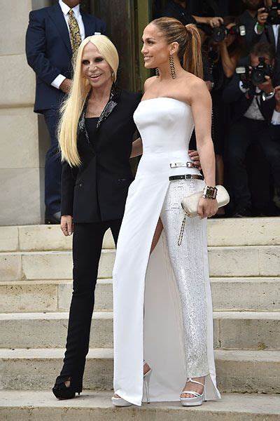Jlo Conducts Own Fashion Week by July 6 And Donatella Versace Arrive At The