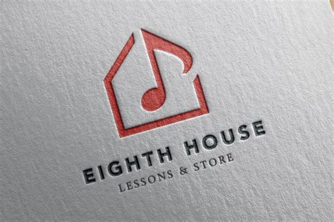 house music logo design eighth house music logo design logo cowboy