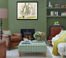 Green Color Decorating Ideas Decorating A Hunter Green Living Room