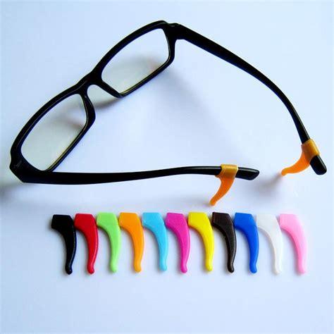 2017 anti slip silicone temple tips holder eyeglass