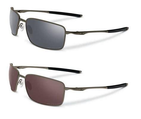 Oklay X Square Silver Blue oakley sunglasses square wire