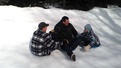 backyard luge amazing canadian backyard luge track best dad ever youtube gogo papa