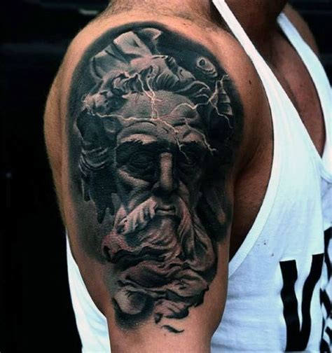 zeus tattoo design for s style and style on