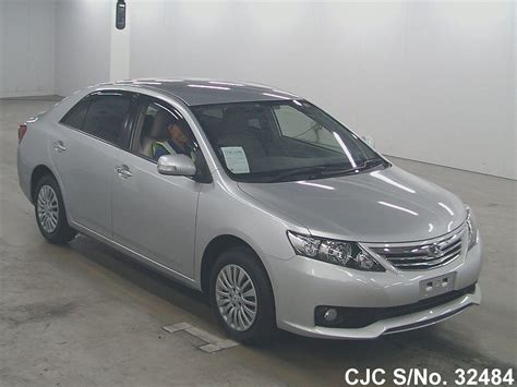 Toyota Allion 2012 Fuel Consumption 2012 Toyota Allion Silver For Sale Stock No 32484