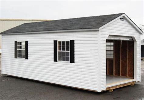 Vinyl Sided Sheds by Vinyl Storage Sheds Leonard Buildings Truck Accessories