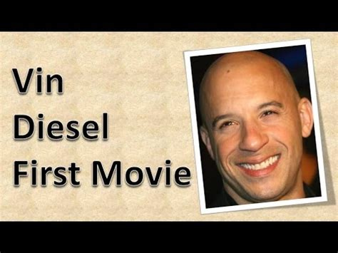 film terbaik vin diesel vin diesel first movie youtube