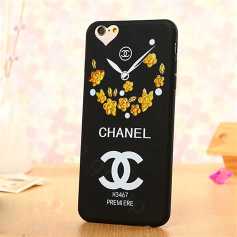 buy wholesale cooling chanel floral silicone cases for iphone 8 plus yellow from