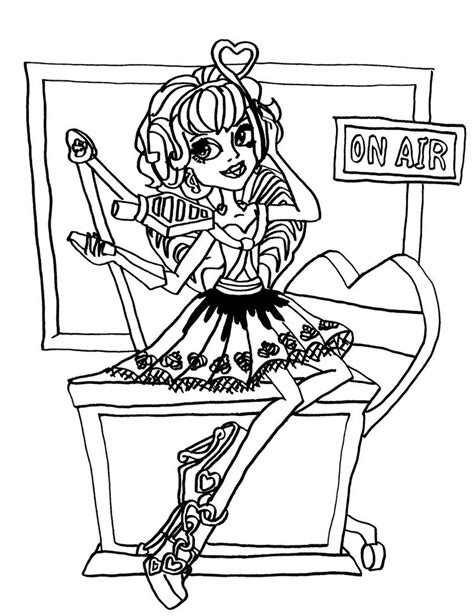 monster high coloring pages cupid c a cupid by elfkena on deviantart