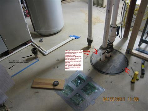 Ejector Pump/roughed in Mystery   Plumbing   DIY Home