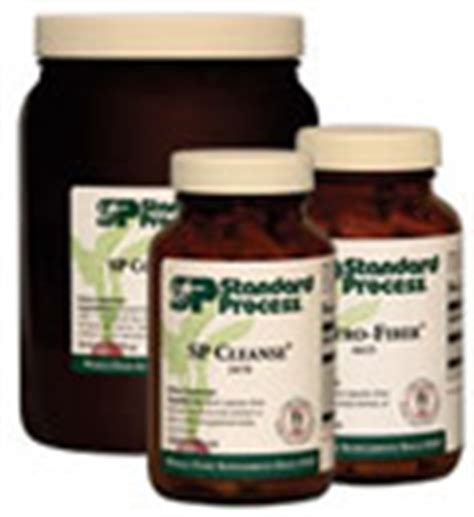 Complete Gastro Detox by Standard Process Purification Product Kit With Sp