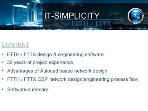 Advantage Of Mba For Software Engineer by Real Ftth Fttx Network Design Engineering And Planning
