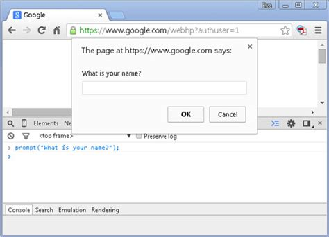 pattern javascript input how to prompt the user for input in javascript dummies