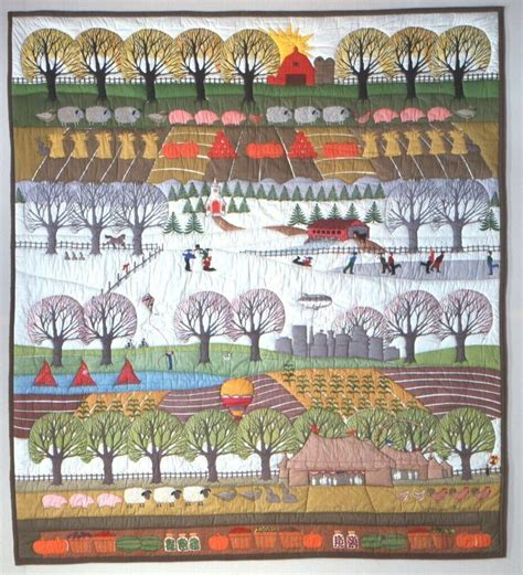 Quilt Shops Indianapolis by Marilyn Price S Quilt Four Seasons In Indiana Sewing