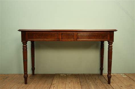 mahogany console table georgian antique mahogany console table antiques atlas