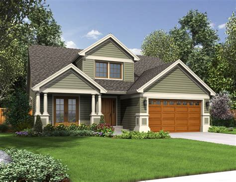 Exterior Home Colors For Small Homes Small Home Designs Ideas With Garage Pictures