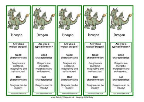 printable dragon bookmarks dragon bookmarks printable images