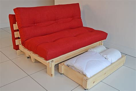 All Wood Futon With Mattress