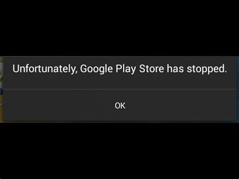 Why Play Store Has Stopped Unfortunately Play Store Has Stopped