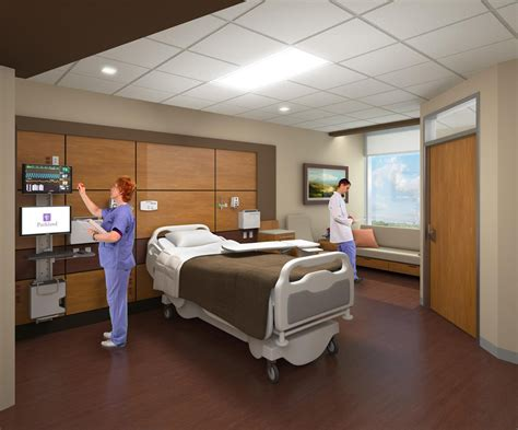 usa rooms parkland hospital by hdr architects