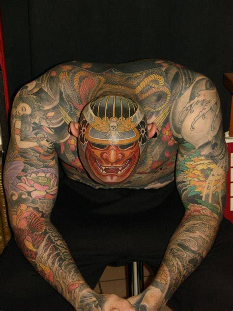 hannya japanese head tattoo design best tattoo ideas gallery