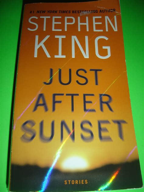 libro just after sunset just after sunset stories by stephen king oct 2009 paperback