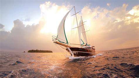 yacht wallpaper 4k boat in the sea 4k wide ultra hd wallpaper hd wallpapers