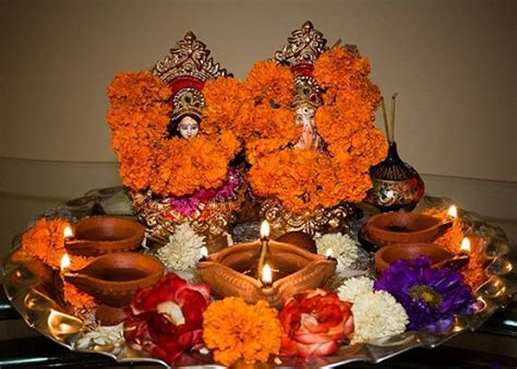 diwali decoration tips and ideas for home diwali pooja thali decoration designs deepavali puja