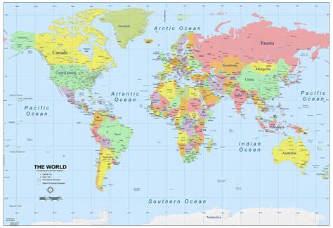 map of da world political world map details zoom