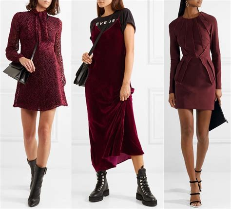 what color to wear to an what color shoes to wear with a burgundy dress burgundy