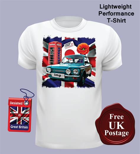 Tshirt Impslave hillman imp s t shirt hillman imp union t shirt mod target poppy