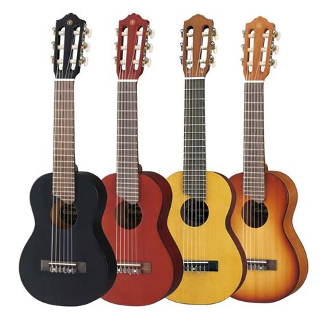 yamaha gl1 guitalele with gig bag ukelele size