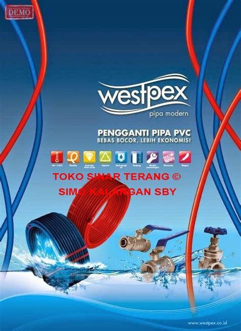 Terkini Pipa Air Panas 1 2 Selang Water Heater 2 Inch jual pipa air panas westpex 20 mm 3 4 quot merah water pipe wespex 3 4 toko sinar terang