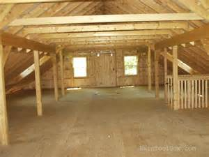 Barn Loft Plans Barn Full Loft See Loft Construction