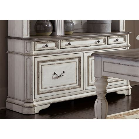 credenza liberty liberty furniture magnolia manor office 5 drawer credenza