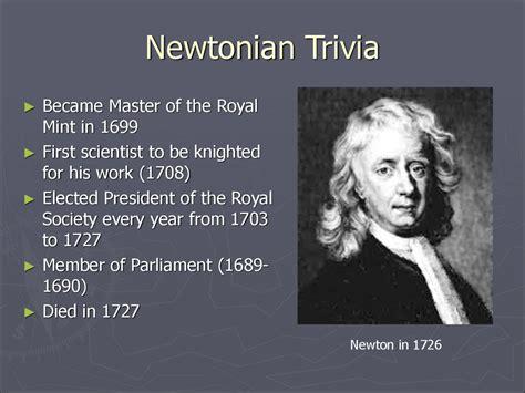biography of isaac newton ppt sir isaac newton презентация онлайн