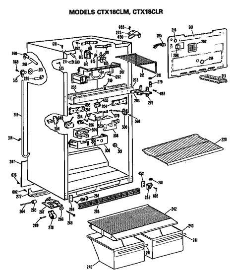 hotpoint refrigerators parts model ctxclrrad sears