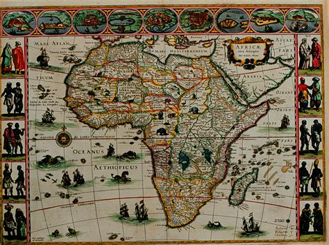 africa map history history