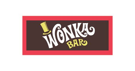 chocolate bar wrapper template willy wonka chocolate