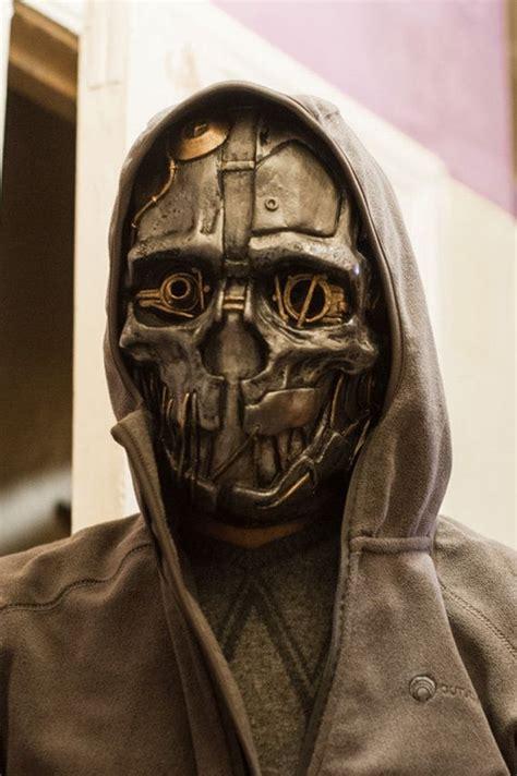 dishonored mask corvo attano inspired dishonored korvo fan art mask by