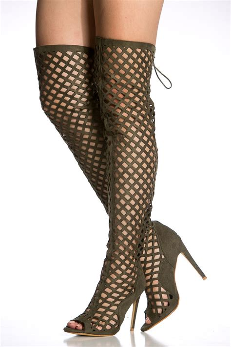 Highheels Gladiator gladiator heels thigh high is heel